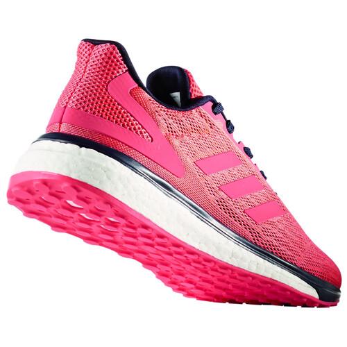 adidas Response LT - Chaussures running Femme - rose sur campz.fr !